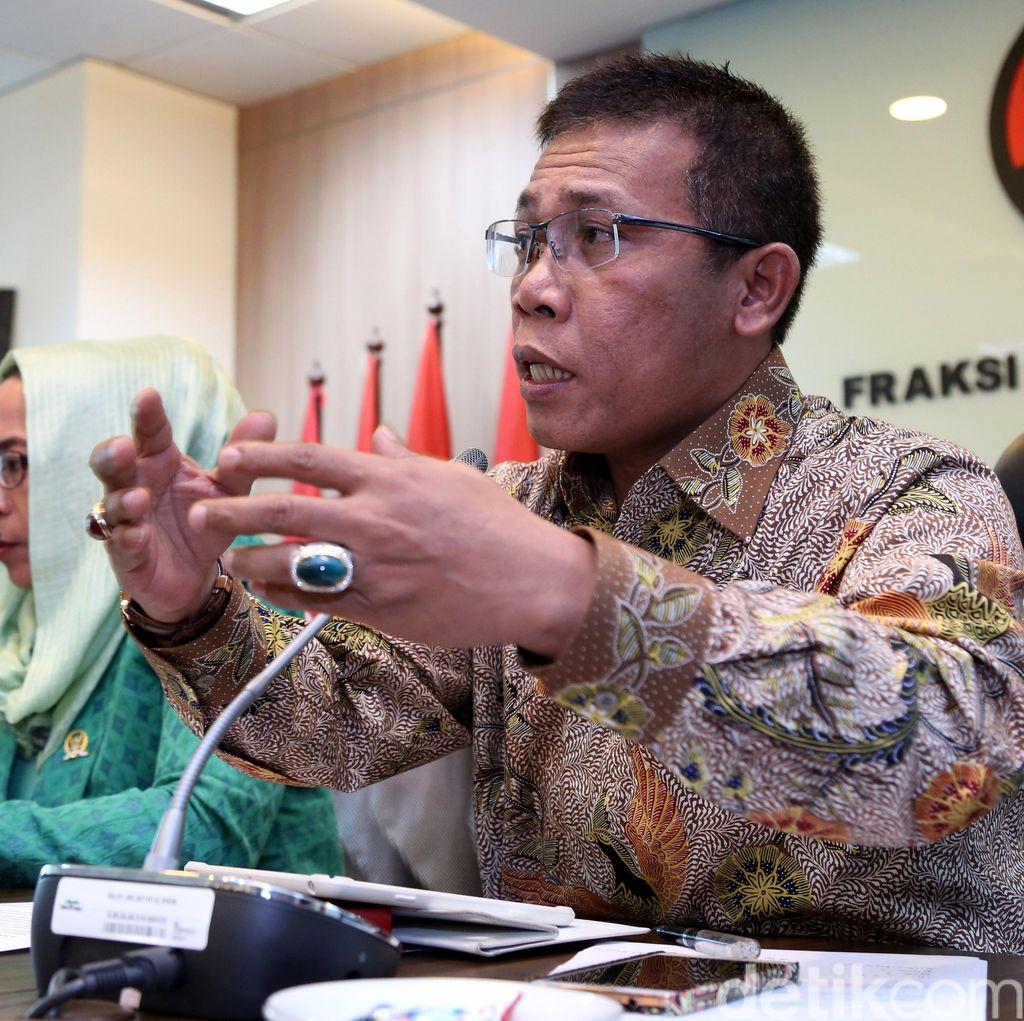 Revisi UU KPK Ditunda, Masinton: Kita Dukung Pemerintah Fokus Ekonomi Dulu