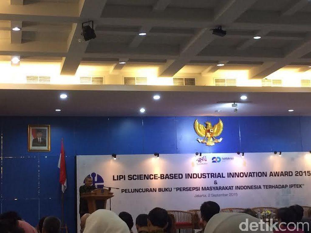 LIPI: Hanya Ada 40 Peneliti per 1 Juta Penduduk di Indonesia