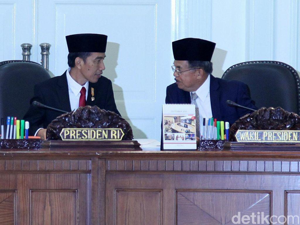 Jokowi Ajak JK Santap Siang di Istana, Bahas Apa?