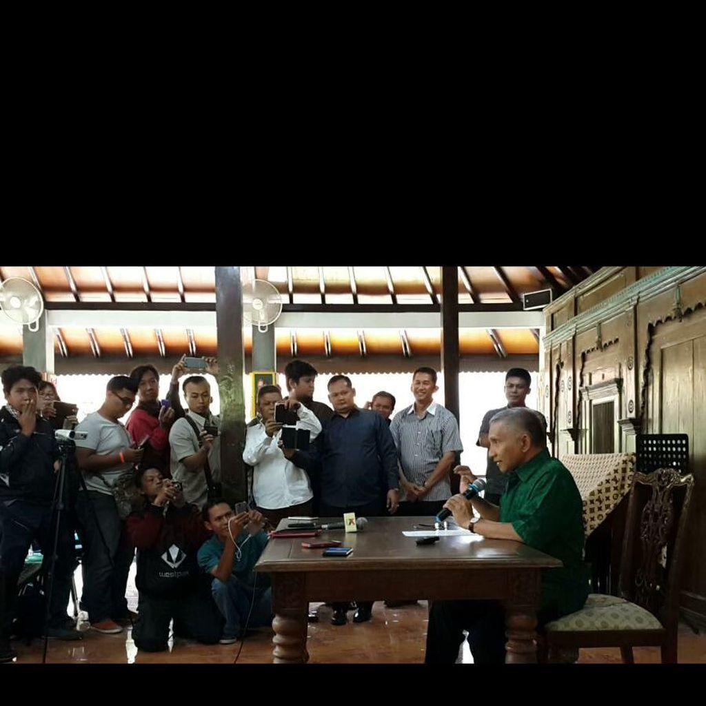 Ini Pernyataan Lengkap Amien Rais di Yogya: Supaya Indonesia Tidak Runtuh