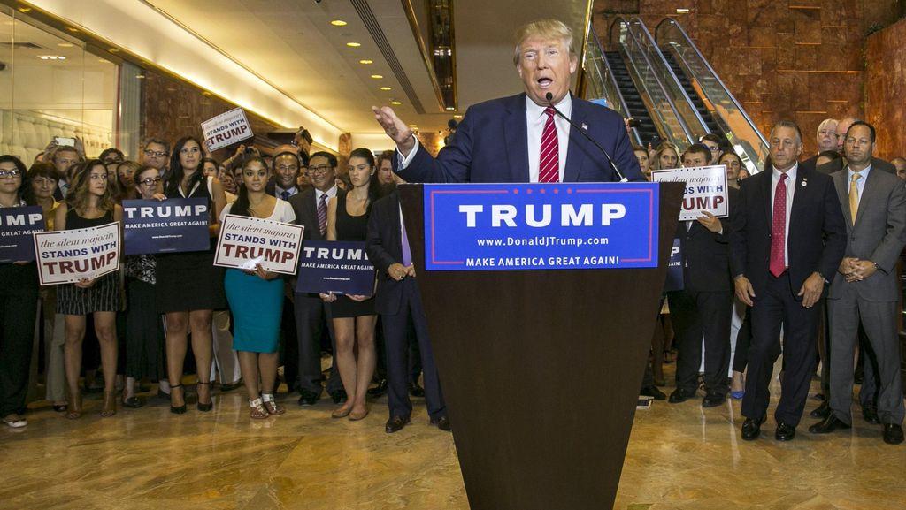 Melihat Lebih Dekat Momen Ketika Setya Novanto Cs Muncul di Kampanye Donald Trump