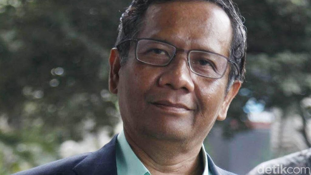 Mahfud MD Berharap Hubungan KPK dan Polri Akan Lebih Baik