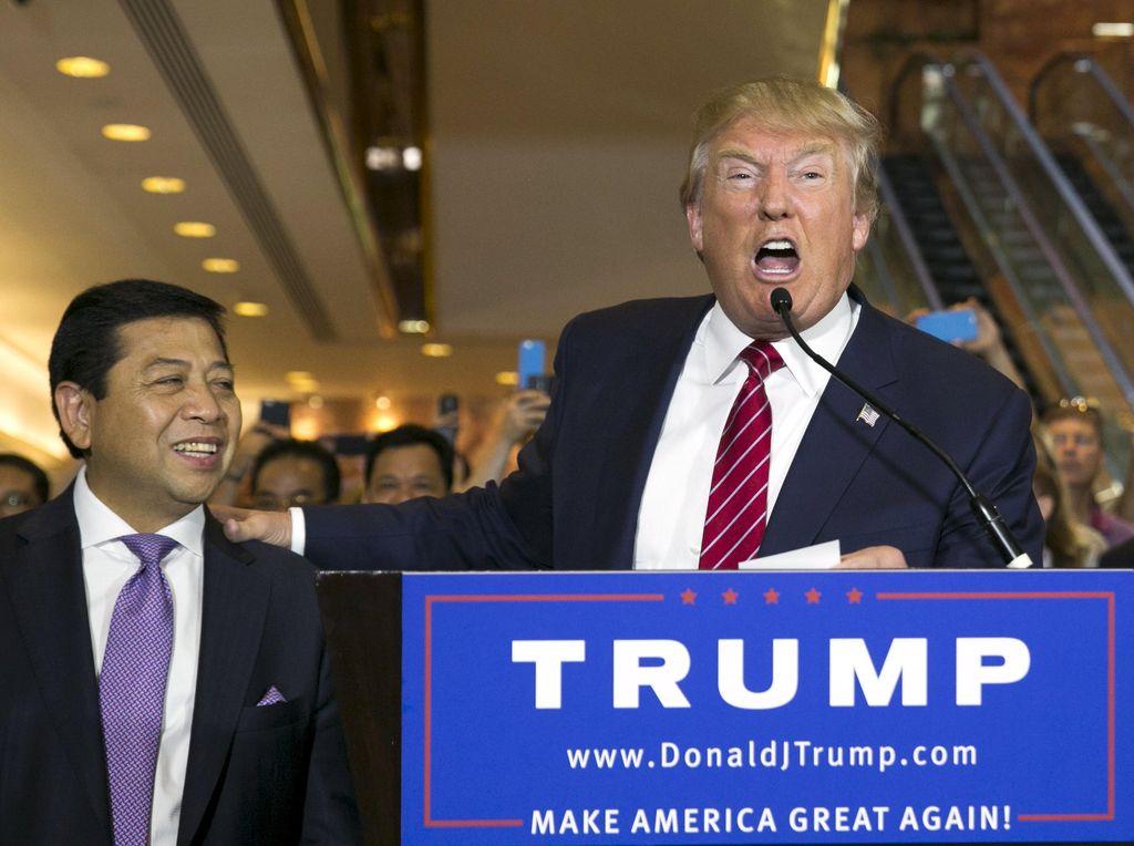 Novanto dan Fadli Temui Donald Trump Setelah Konferensi Parlemen Dunia