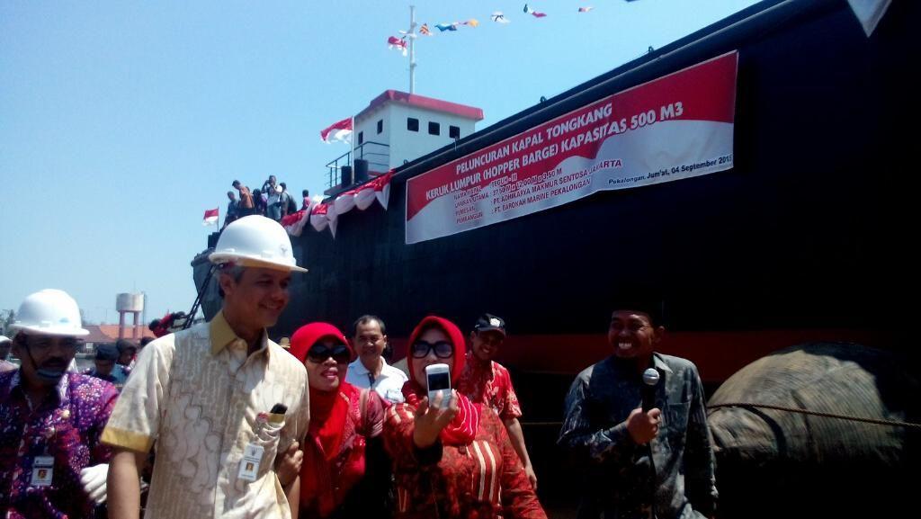 Gubernur Ganjar Dorong Produksi Kapal Dalam Negeri di Jateng