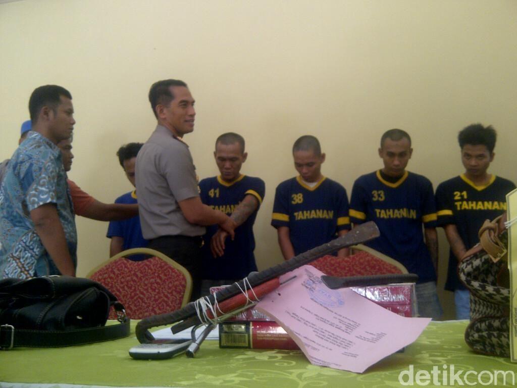 7 Penjahat Jalanan di Depok Dibekuk Polisi