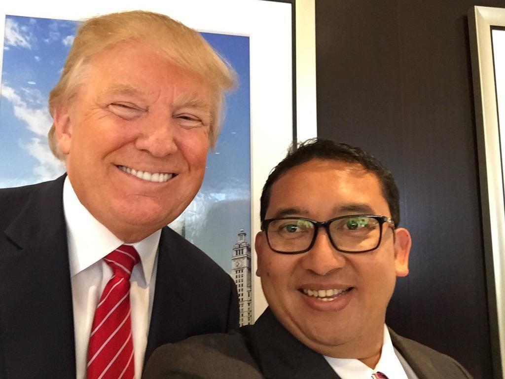 Fadli Zon Jawab Kritik Imam Shamsi Soal Pertemuan dengan Trump