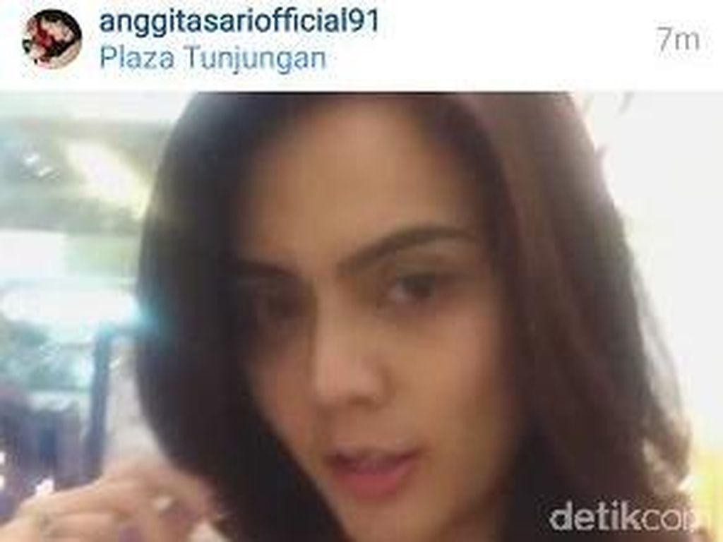 Anggita Sari Jalan-jalan di Mal, Rekam Video Klarifikasi Soal Penangkapan AS