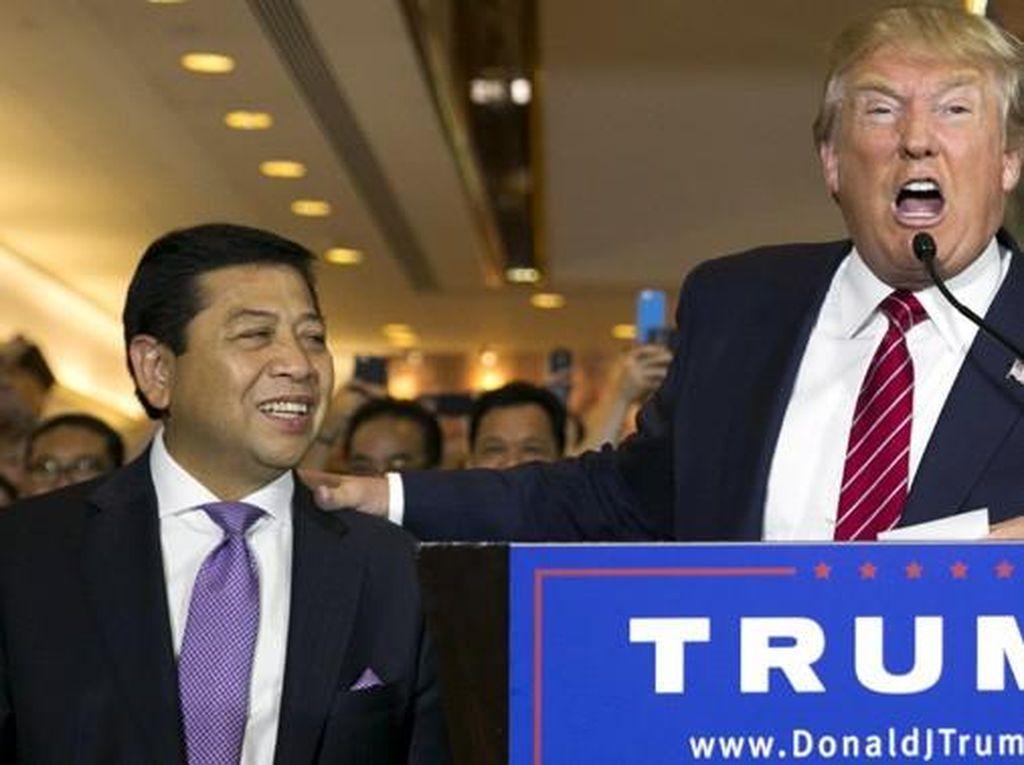 Muncul di Kampanye Trump, Novanto Cs Didesak Minta Maaf ke Rakyat