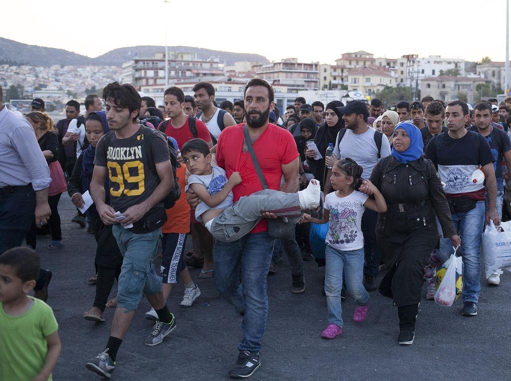 PBB Minta Negara-negara Eropa Tampung 200 Ribu Pengungsi