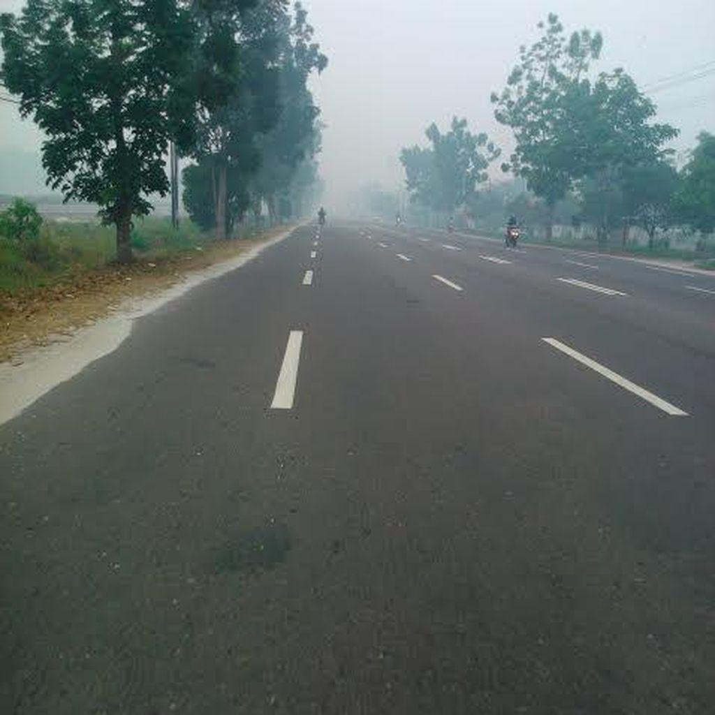 Titik Panas di Kalimantan Tengah Turun dari 326 Menjadi 6