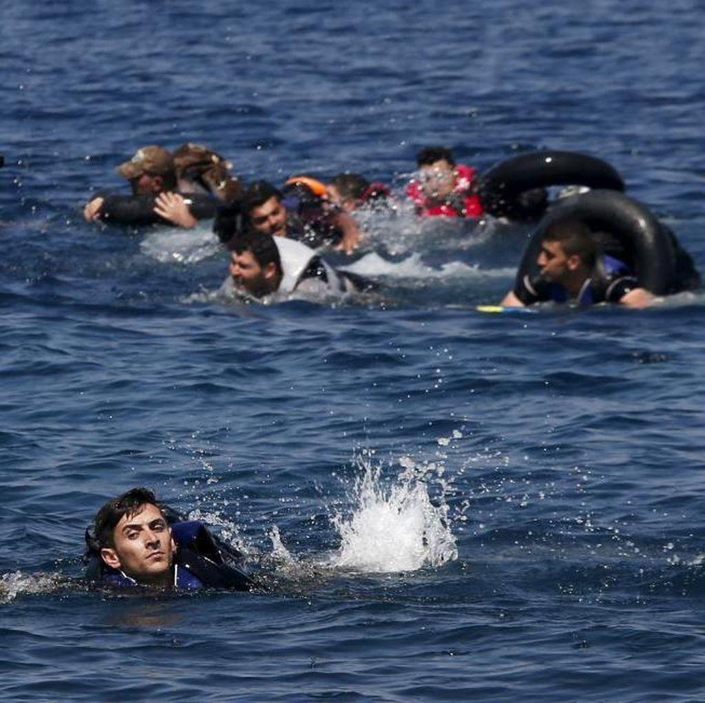 Perahu yang Membawa Migran Asal Iran Terbalik Saat Hendak Menuju Inggris