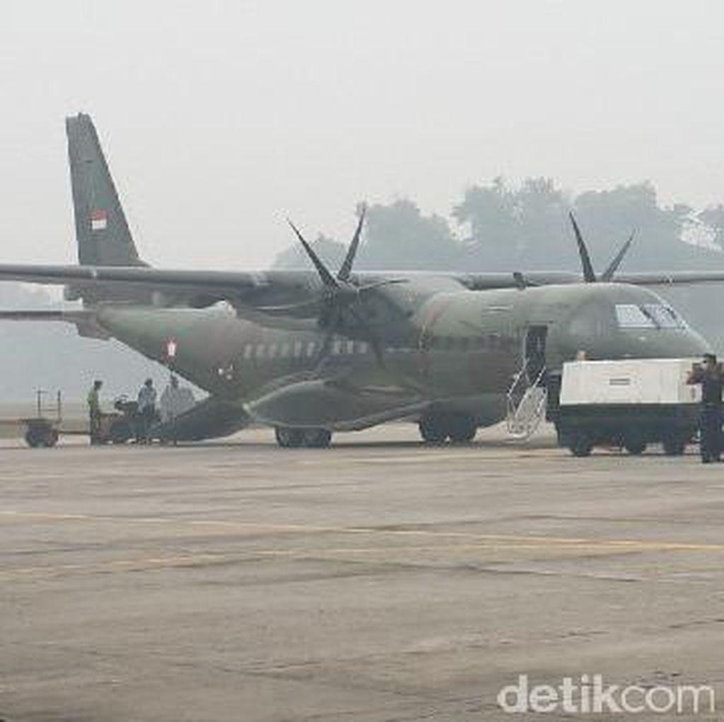 Pesawat Singapura dan Malaysia Tiba Sore Ini, Langsung Padamkan Api di Sumsel