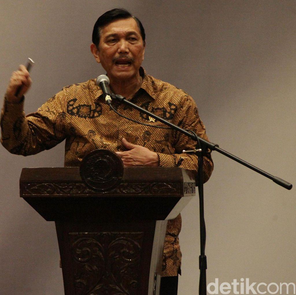 Revisi UU KPK Ditunda, Luhut: Presiden Ingin KPK Tetap Kuat