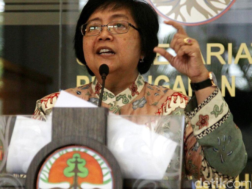 Menteri LHK: 421 Perusahaan Kita Intai untuk Diberi Sanksi Administratif
