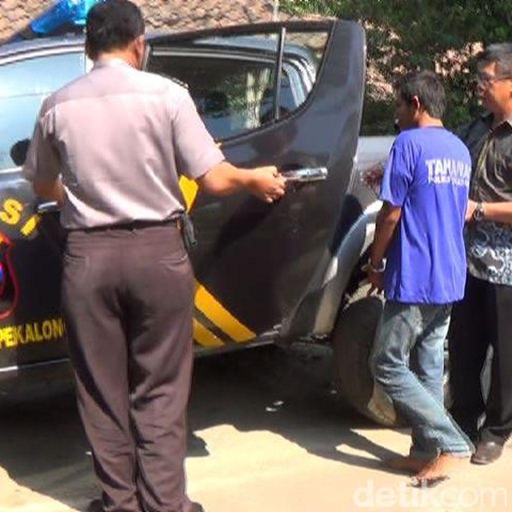 Pontang-panting Dikejar Warga, Pencuri Kambing Terjungkal dari Motor