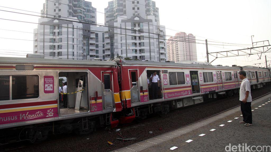 Polda Metro akan Limpahkan Kasus Tubrukan KRL di Stasiun Juanda ke PPNS