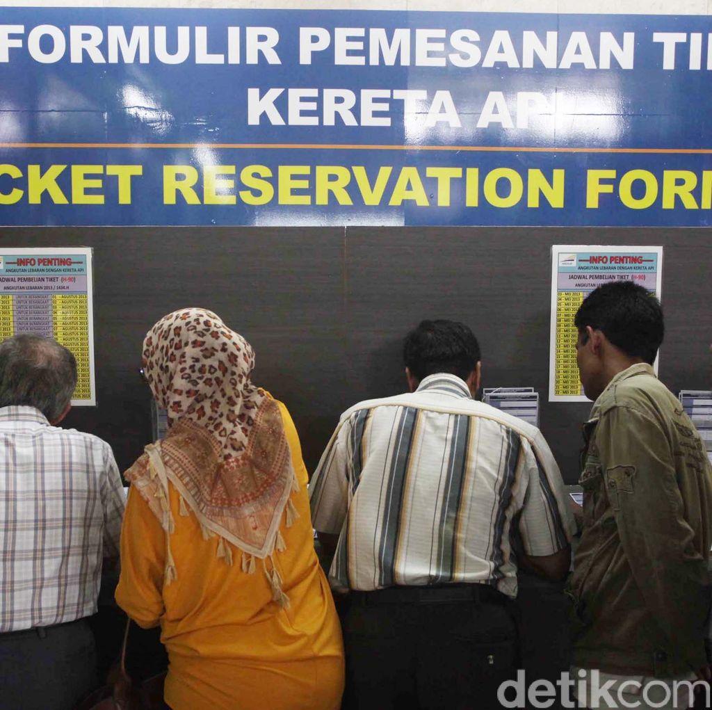 Tiket Kereta Api Bandung ke Jateng dan Jatim Libur Panjang Mei Hampir Habis
