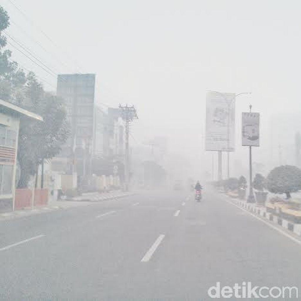 BNPB: Kunci Atasi Bencana Asap Ada di Sumatera Selatan!
