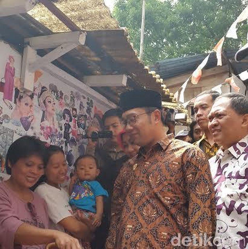 Ridwan Kamil Pastikan Kampung Kolase Yang Digusur Jadi RTH