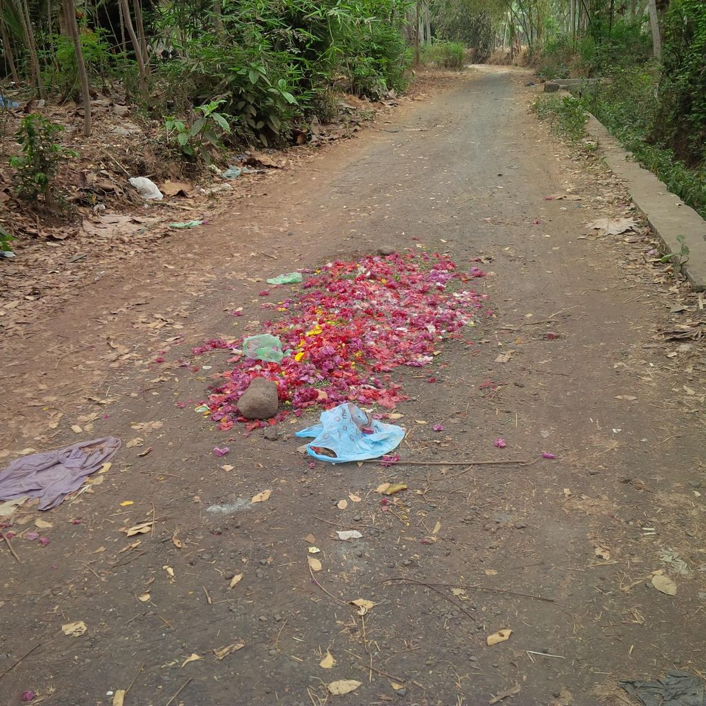 Ada Taburan Bunga di Lokasi Salim Kancil Tewas
