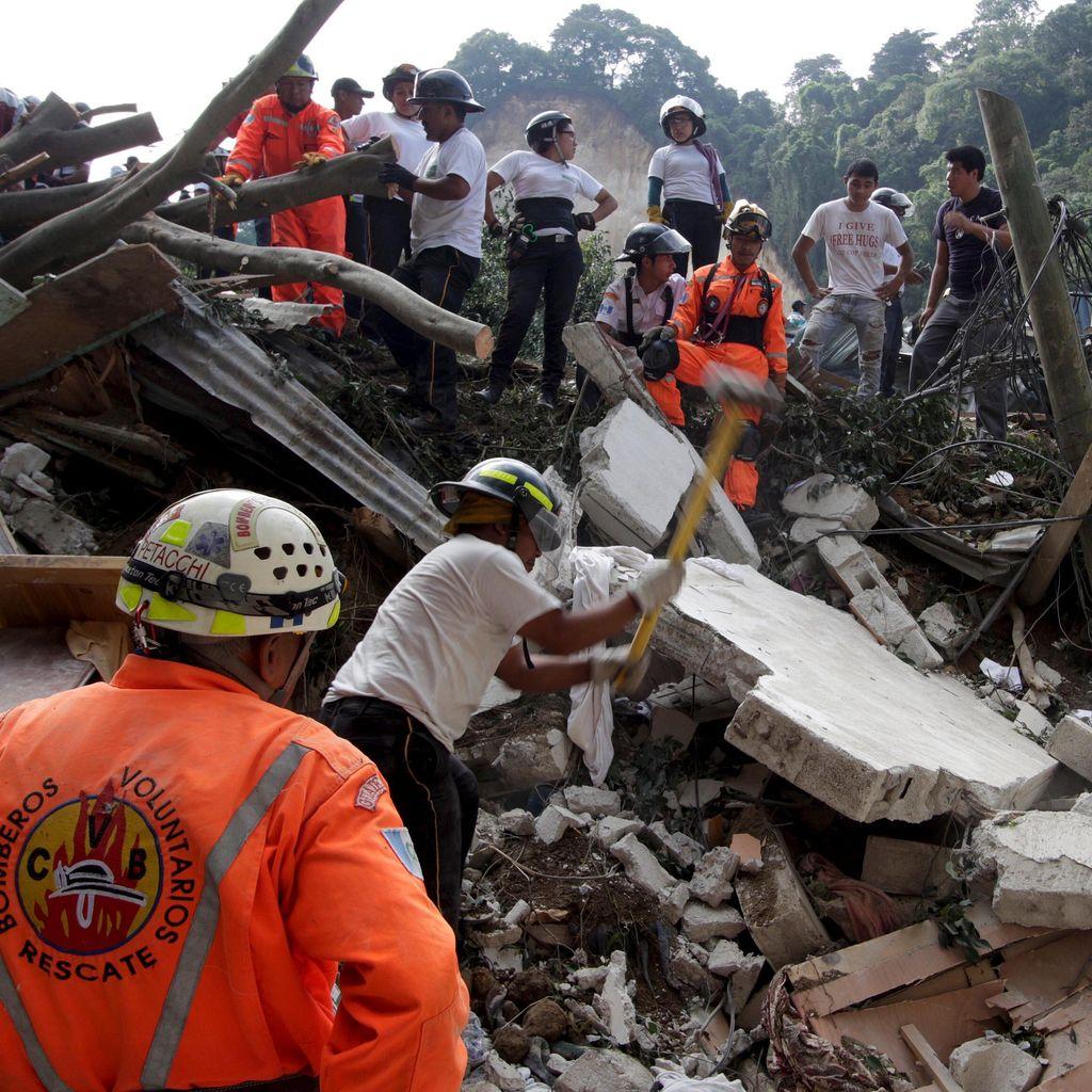 Korban Tewas Tanah Longsor di Guatemala Bertambah Jadi 30 Orang