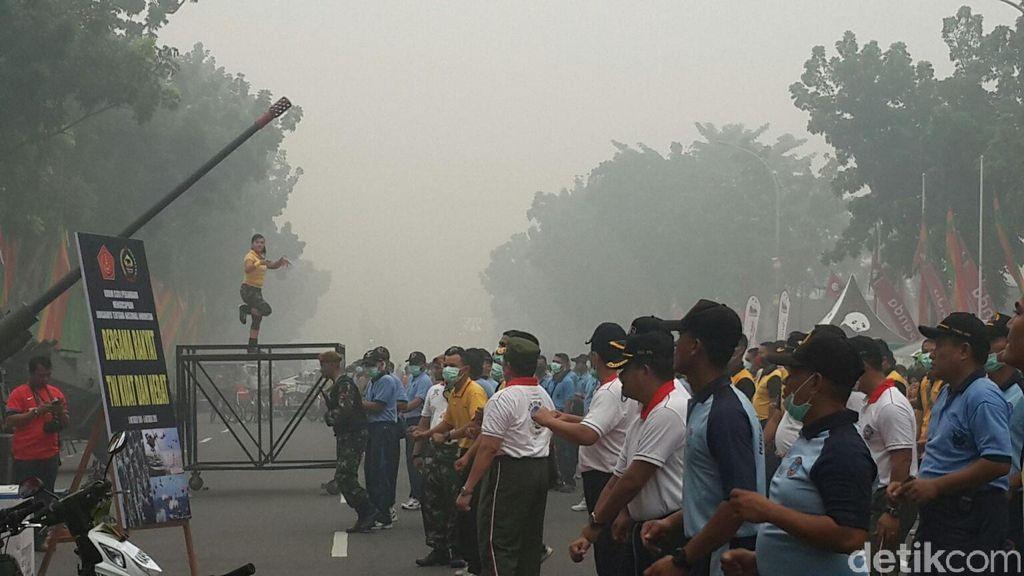 Ada 1.119 Titik Panas di Sumatera, Asap Masih Menggila