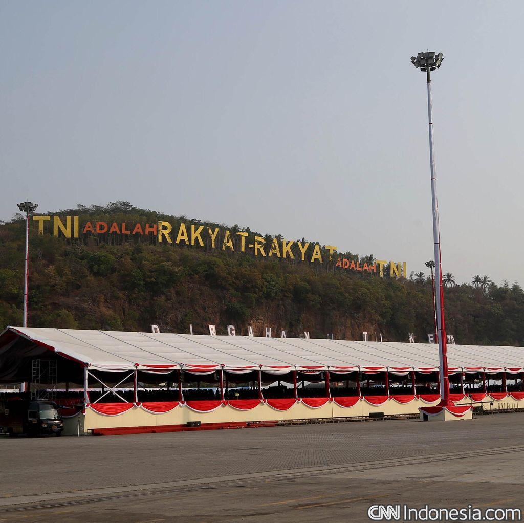 Jokowi Jadi Inspektur Upacara HUT ke-70 TNI di Cilegon Pagi ini