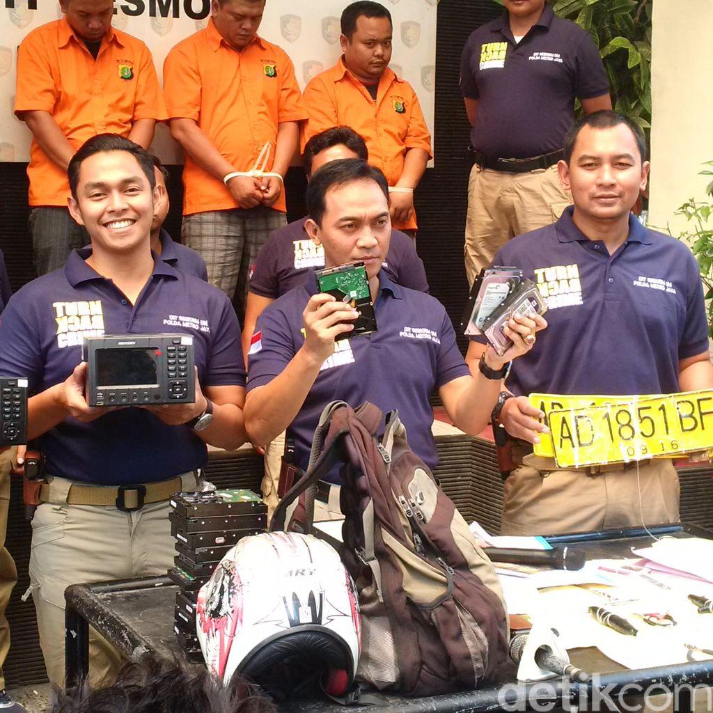 Beraksi Solo Karir, Pencuri Dekoder ATM di 52 TKP Ditangkap Polisi