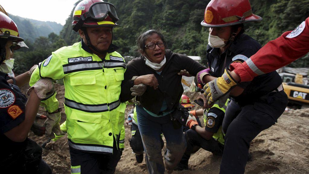 Tragedi Longsor di Guatemala, 69 Orang Tewas dan Ratusan Hilang
