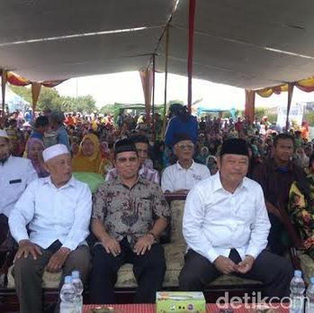 Korban Lumpur Lapindo Gelar Istighosah dan Berterima Kasih ke Jokowi