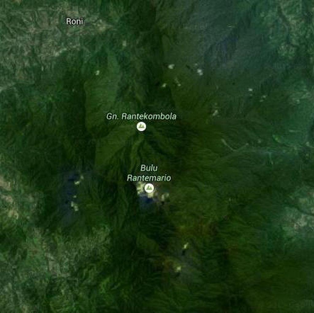 Ini Lokasi Ditemukannya Pesawat Aviastar yang Jatuh