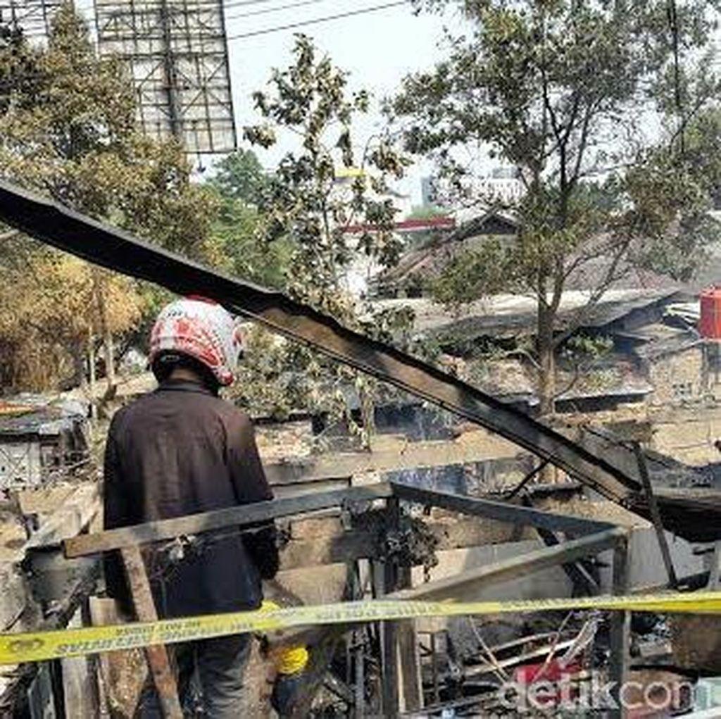 Satu Warga Tamansari Terbakar, Dirawat di RSHS
