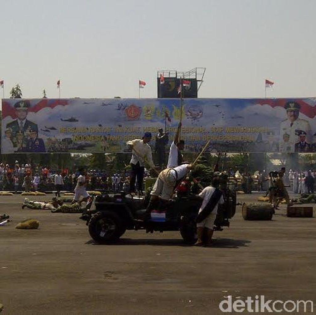HUT ke 70 TNI di Surabaya Digelar Sederhana dan Merakyat