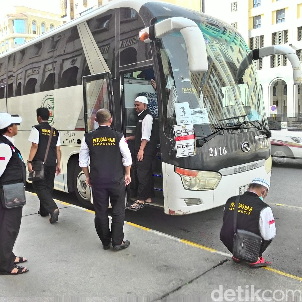 Jemaah Gelombang II ke Madinah, Transit Dulu di Terminal Hijrah