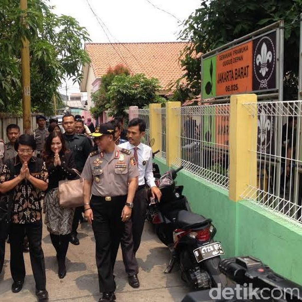 Kak Seto, Polisi dan KPAI Cek Sekolah Bocah yang Tewas Dalam Kardus