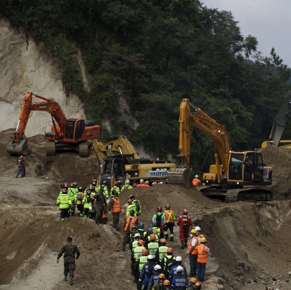 Korban Jiwa Tanah Longsor Guatemala Bertambah Jadi 171 Orang