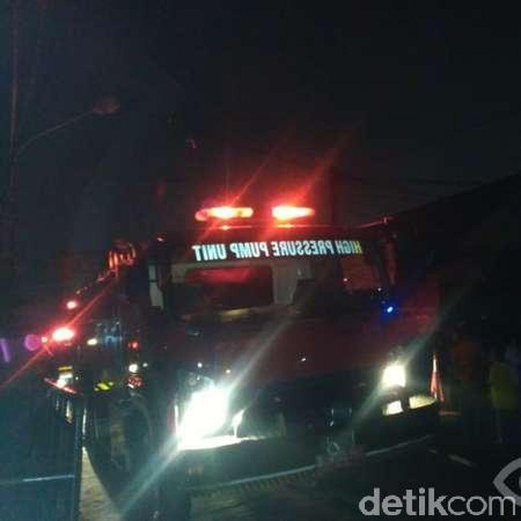 Kebakaran di Bukit Duri Jaksel Padam, Warga Sempat Panik