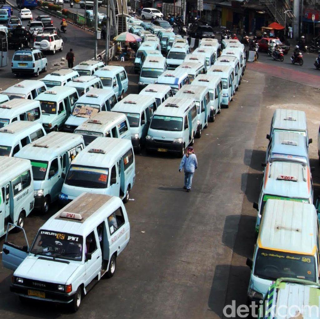 Cegah Kejahatan, Polres Tangerang Razia Angkutan Umum Berkaca Film Gelap