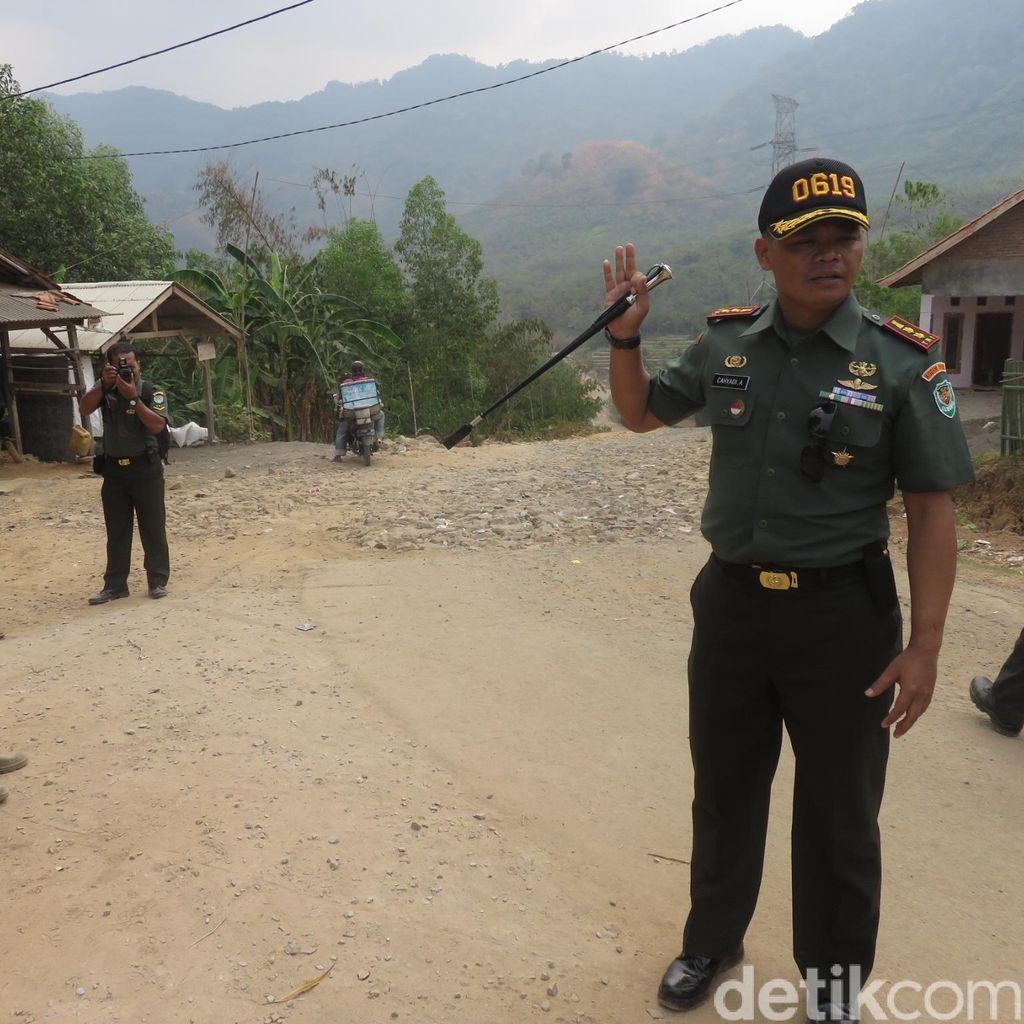 Melihat Lebih Dekat Pembangunan Jalan Purwakarta-Bogor yang Dibangun TNI
