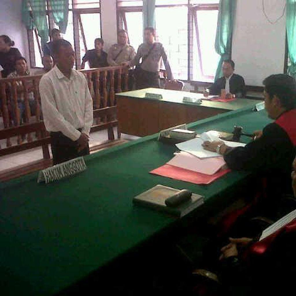 Pembunuh Istri Ketua MUI Sulut Dihukum Seumur Hidup