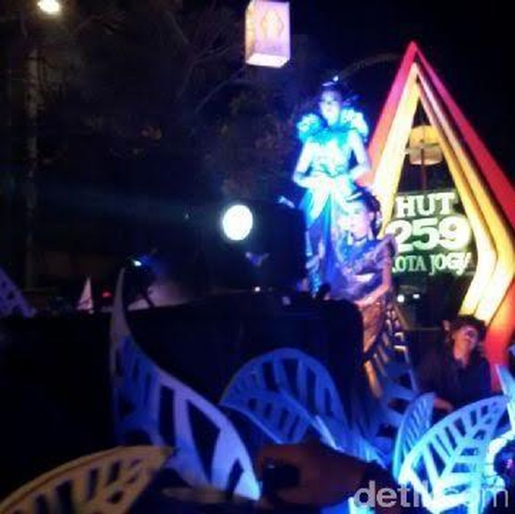 Puluhan Ribu Warga Rayakan Puncak HUT Kota Yogya ke-259