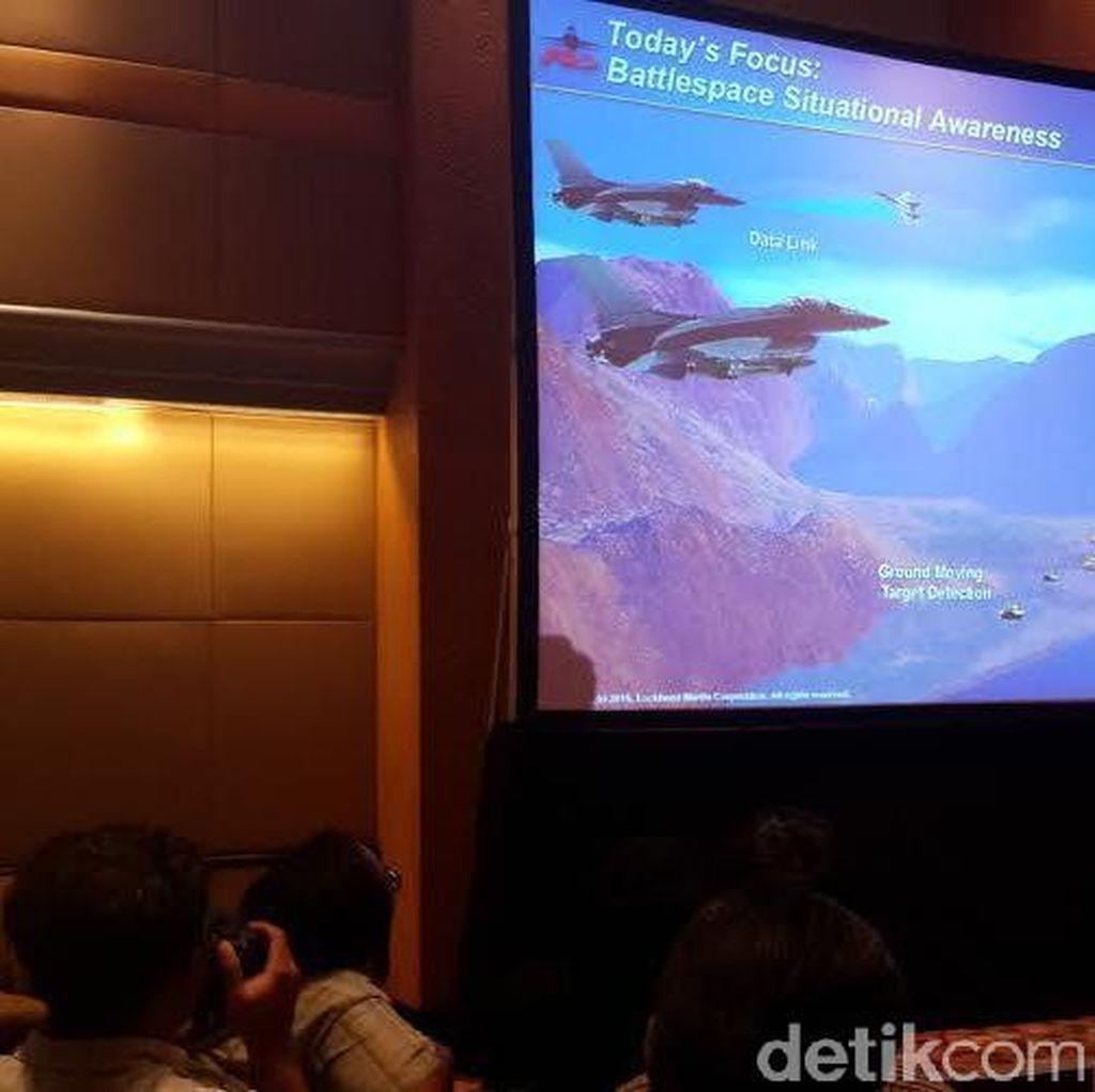 Lockheed Martin Tawarkan Jet Tempur F-16 Seri Terbaru untuk Indonesia