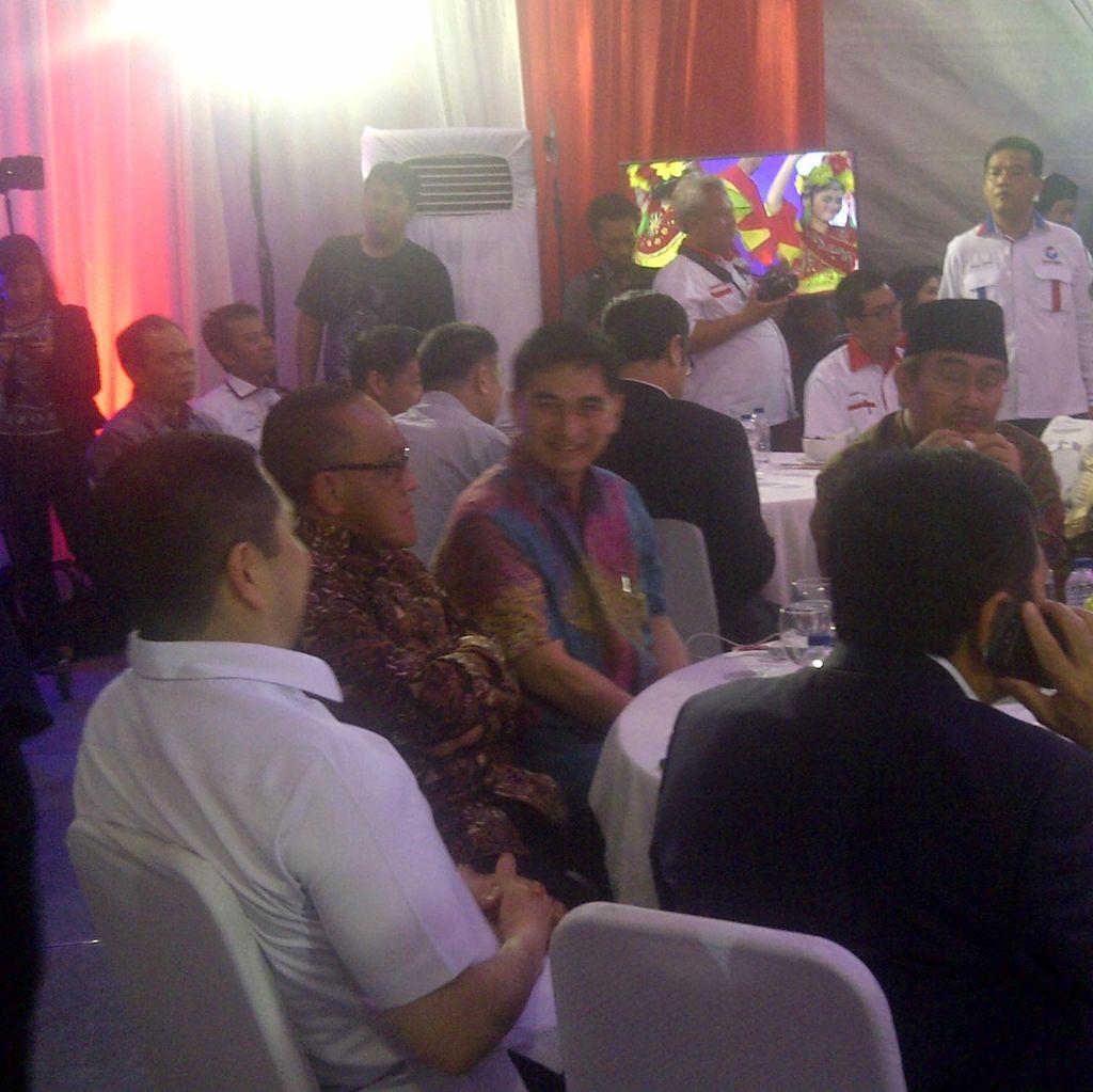 Ical, Novanto hingga Jimly Hadiri Ulang Tahun Perindo ke-1