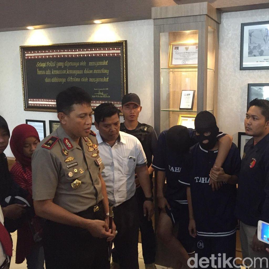 Tim Antibandit Polda Lampung Ringkus Begal yang Tewaskan Pelajar