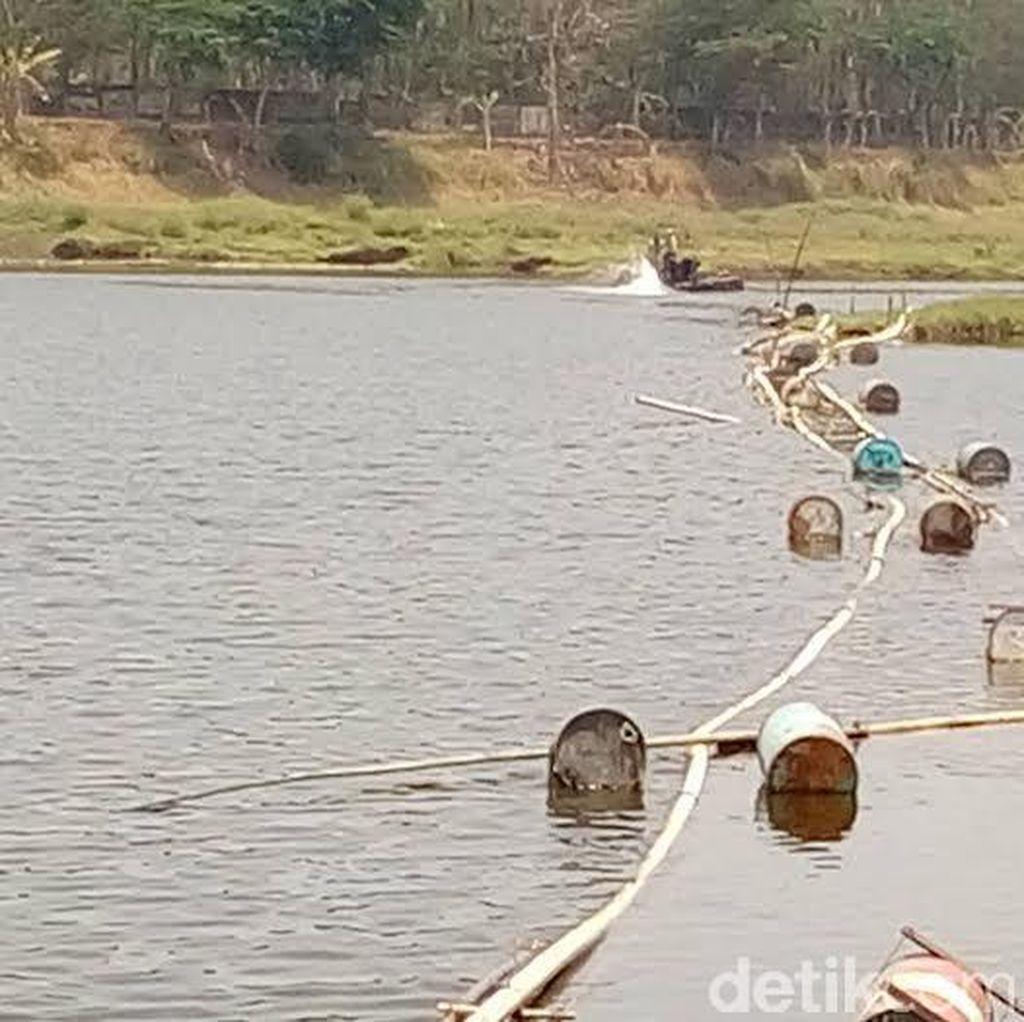 Tambang Pasir Ilegal di Sungai Porong yang Digerebek Milik Politisi PDIP