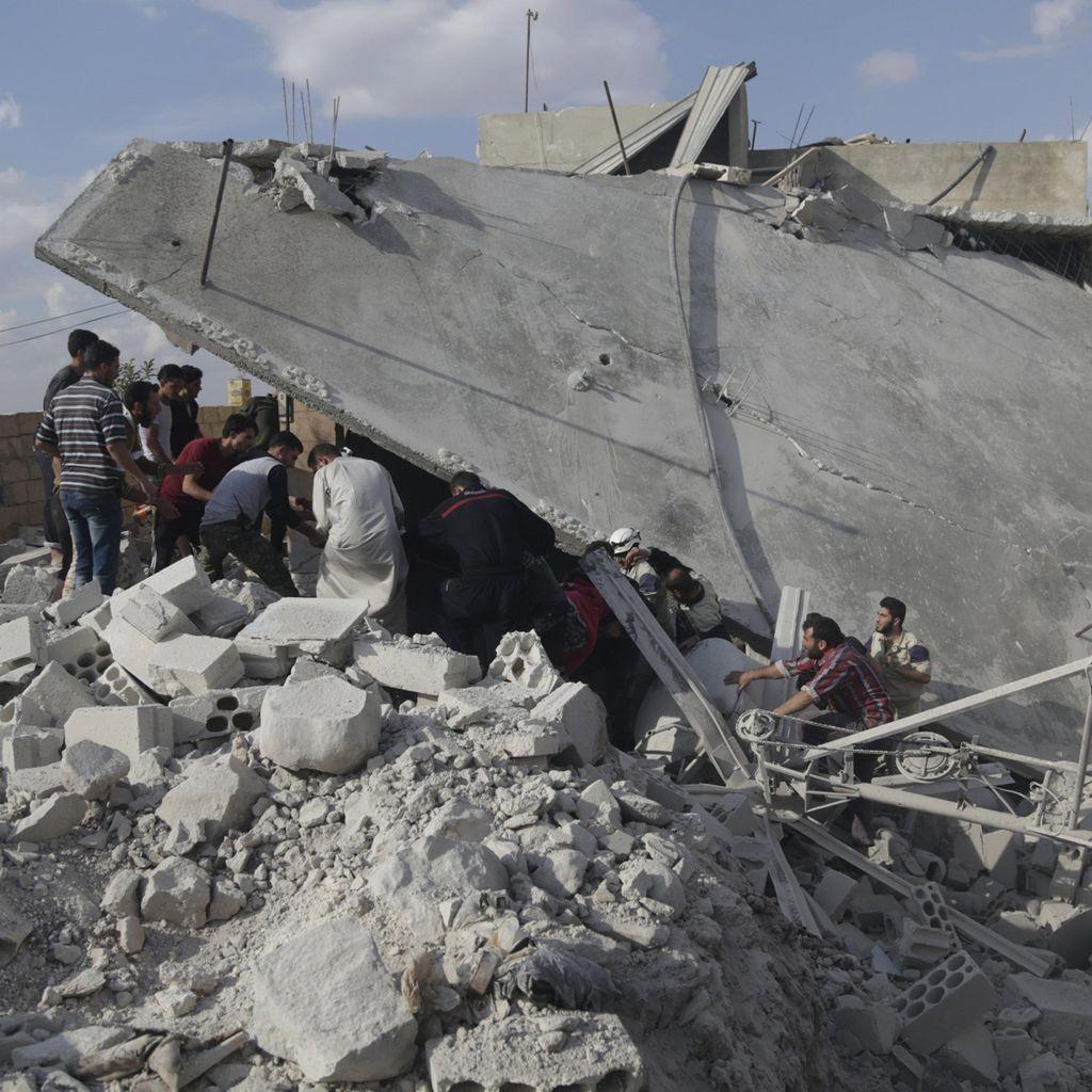 Rusia Bantah Bombardir Warga Sipil di Suriah