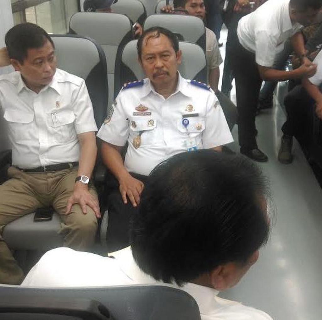Jonan Minta Gubernur Sumut Bantu Bangun Jalur Ganda dan Trans Sumatera
