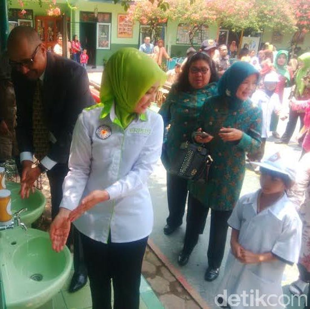 Biasakan Perilaku Cuci Tangan, Taman di Bandung Segera Dipasang Wastafel