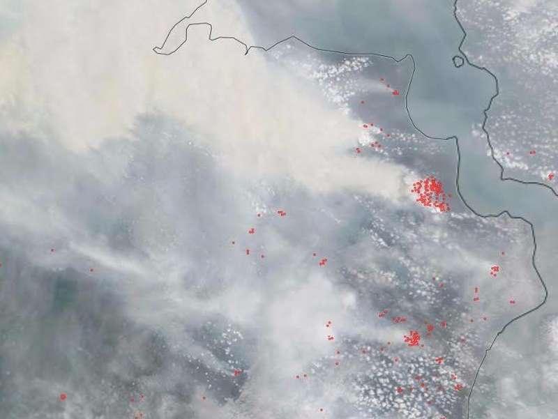 Dua Pesawat Thor Australia Tiba di Palembang, Siap Padamkan Api