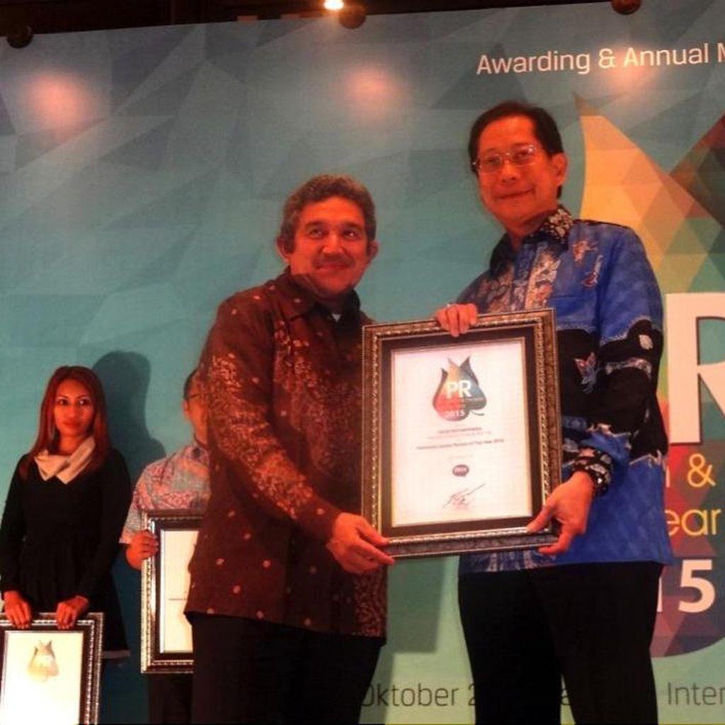 Presdir BCA Kembali Raih Penghargaan Spoke Person of the Year